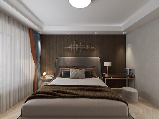 四层轻奢独栋杭州别墅装修案例,彰显高级质感!