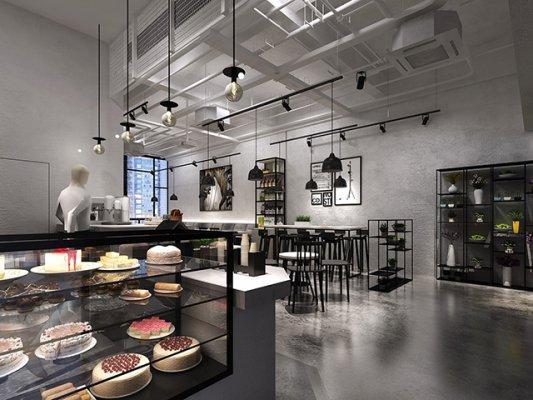 商业空间装修设计可咨询森鹤设计公司